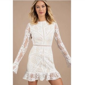 Tobi white lace Victoria dress